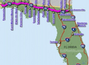 interstate_10_florida_map